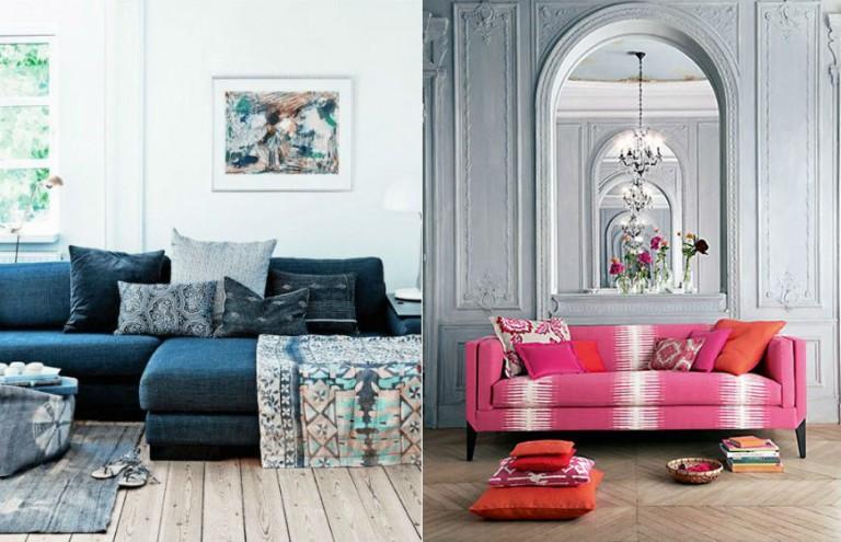 Living Room Inspiration: Modern Patterned Sofas - Modern Sofas