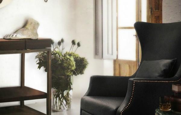 black leather sofa Living Room Inspiration: Black Leather Sofa black leather sofa 8 600x380