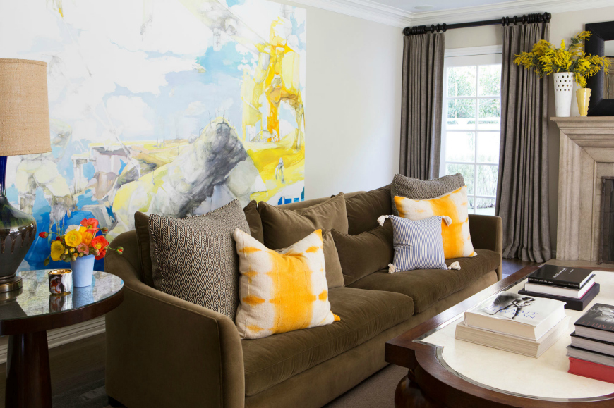 modern sofas in living room projects by interior designers