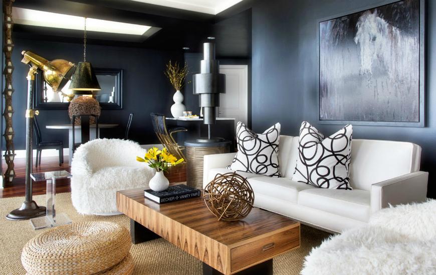 modern sofas kelly wearstler