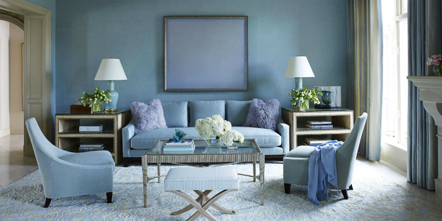 25 Smashing Ways To Style A Blue Sofa In Your Living Room