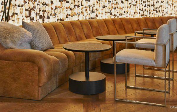 Striking Modern Sofas In Hospitality Projects By Dawson Design