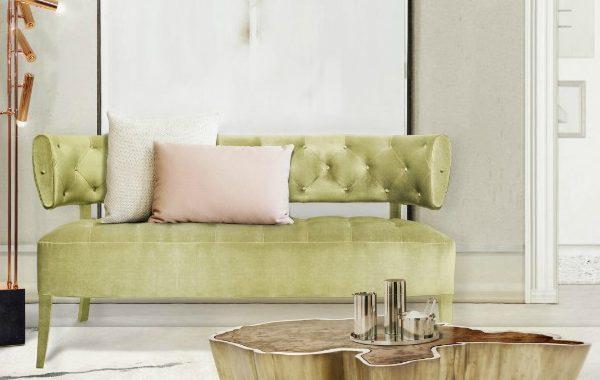 green sofa 8 Reasons Why You Need A Green Sofa In Your Living Room 8 Reasons Why You Need A Green Sofa In Your Living Room 600x380