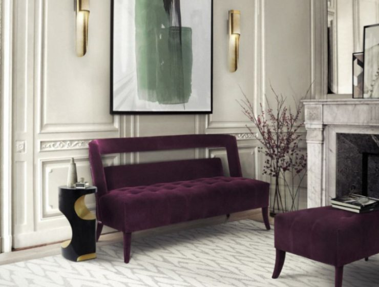 purple sofas 10 Ideas With Purple Sofas That Will Light Up Your Home 10 Ideas With Purple Sofas That Will Light Up Your Home10 1 740x560