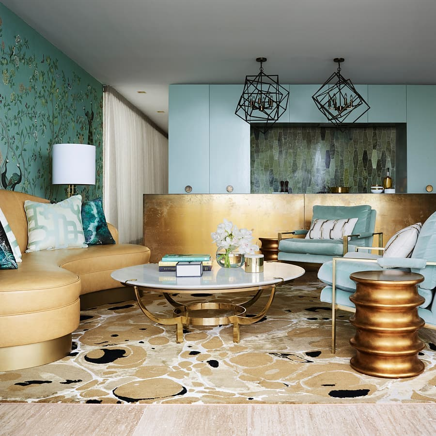 Greg Natale: Glamour in your interior design  greg natale Greg Natale: Glamour in your interior design Tamarama Apartment