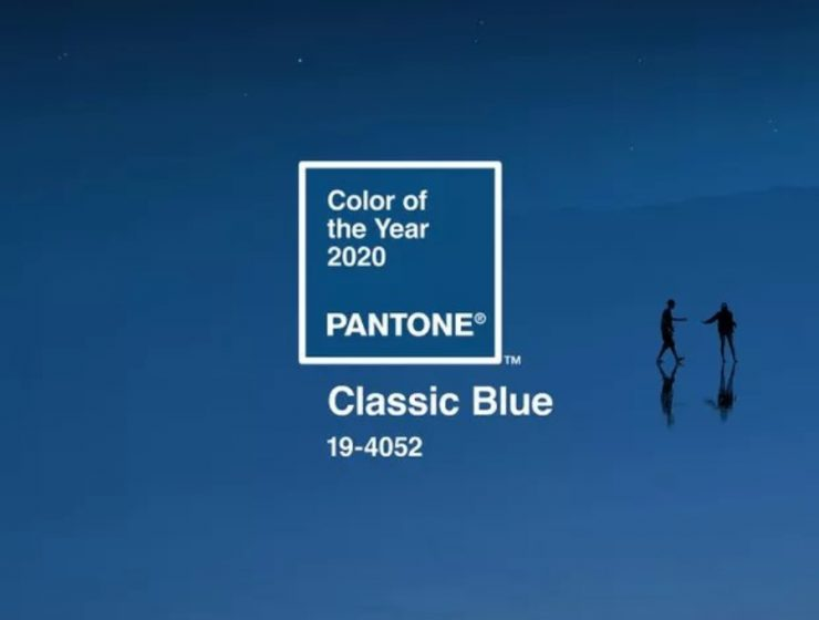 pantone Pantone's Colour of the Year – Classic Blue Pantones Colour of the Year Classic Blue 2 740x560
