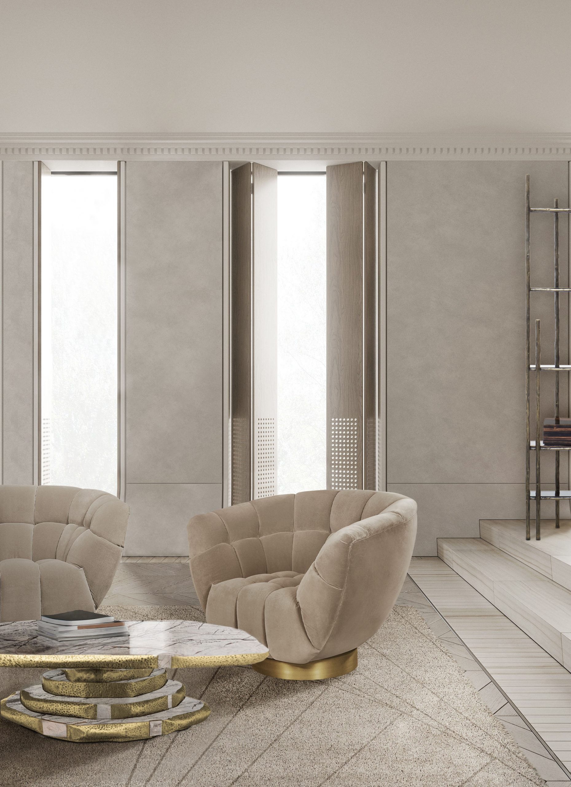 Spring Trends To Help You Choose The Best Sofa spring trends Spring Trends To Help You Choose The Best Sofa essex armchair latza center marble scaled