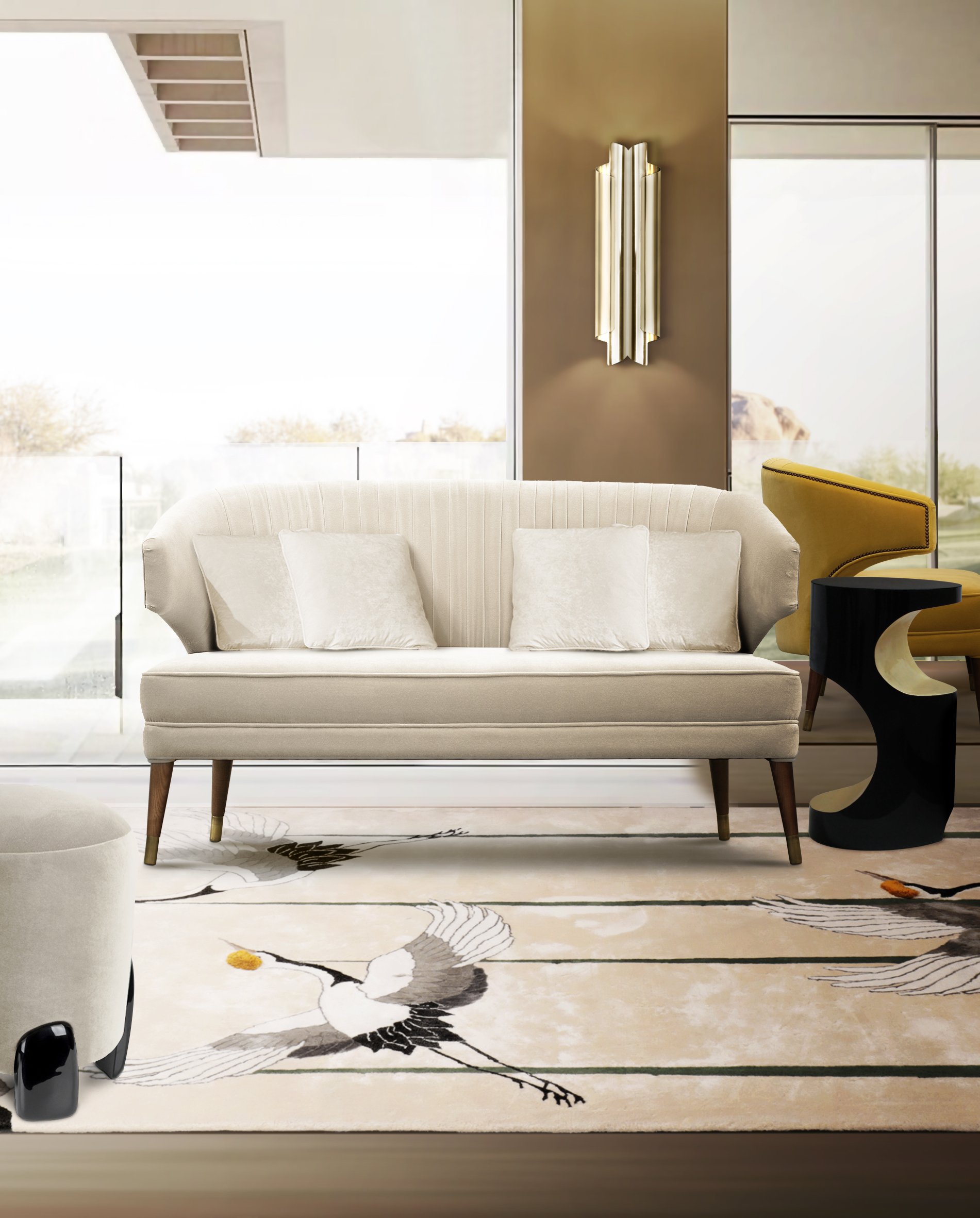 The Best Sofa Inspirations For Small Places sofa inspirations The Best Sofa Inspirations For Small Spaces BB ibis 2 seat 1