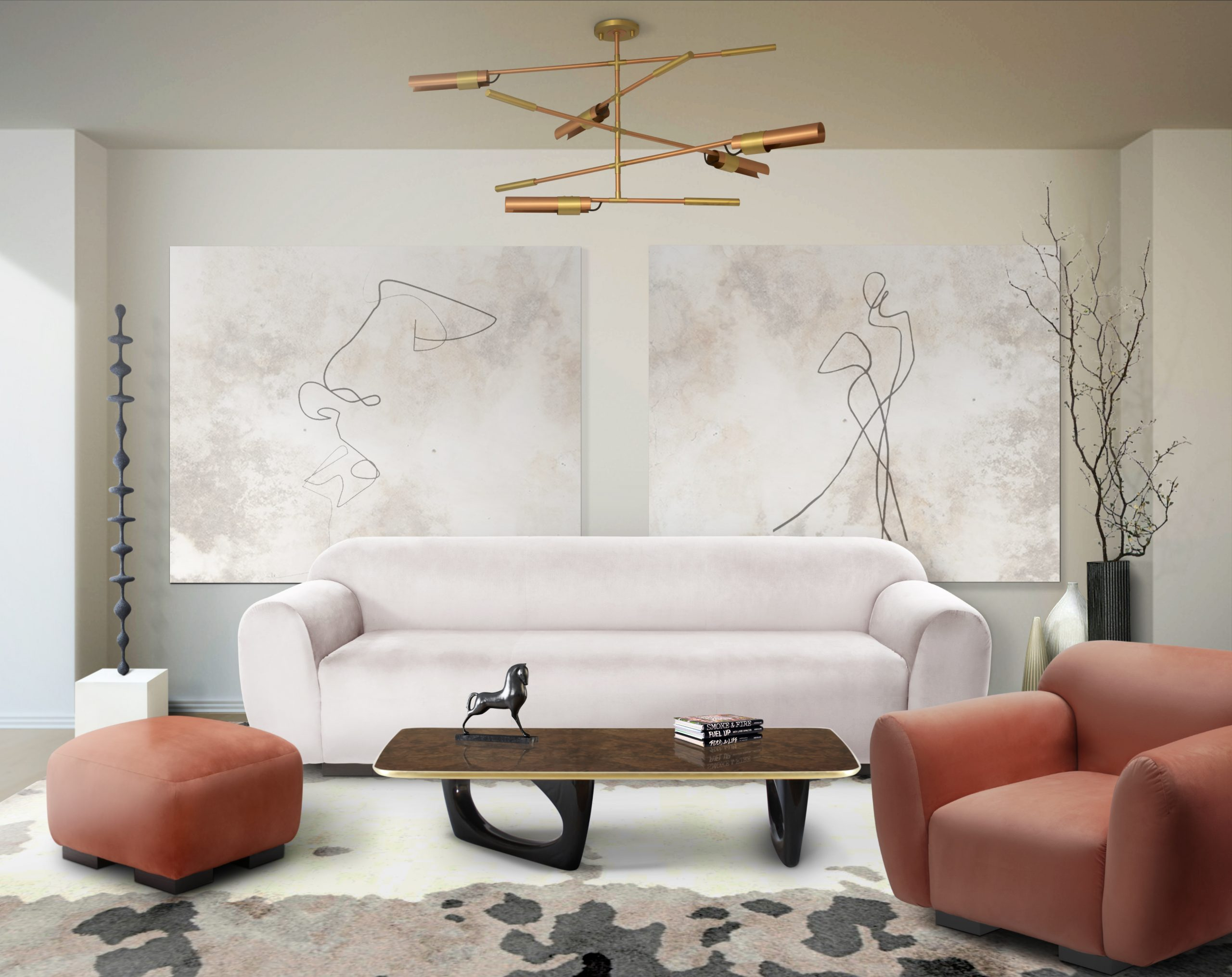 White Sofas - Discover How Elegant This Color Can Be white sofas White Sofas – Discover How Elegant This Color Can Be living otter sofa koben suspension scaled