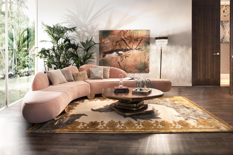 5 Best Velvet Sofas For Modern Living Rooms velvet sofas 5 Best Velvet Sofas For Modern Living Rooms Living Room 1