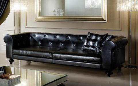 leather sofas Leather Sofas – How This Classic Piece Can Also Be A Modern Addition leather sofa juliettes interiors with low leather sofa 480x300