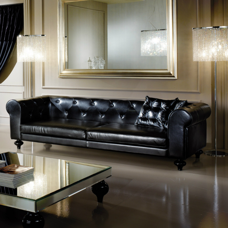 Leather Sofas - How This Classic Piece Can Also Be A Modern Addition leather sofas Leather Sofas – How This Classic Piece Can Also Be A Modern Addition leather sofa juliettes interiors with low leather sofa