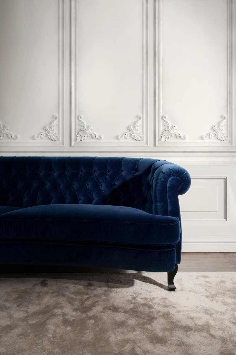 Blue Upholstery Sofas to Warm Up Your Home For The Winter