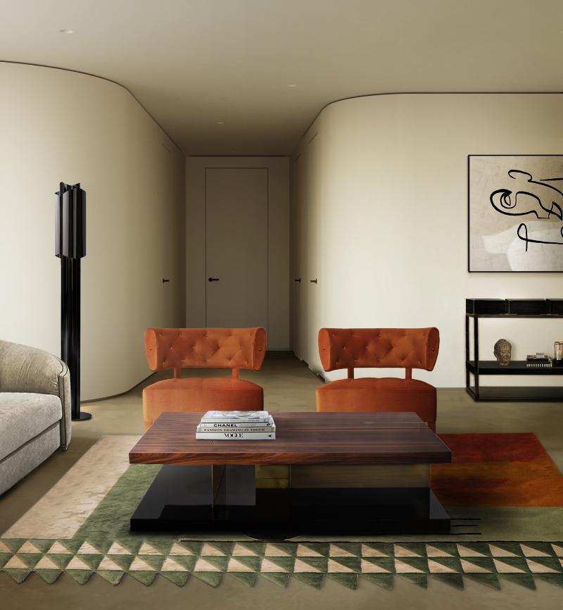Modern Mid-Century Design – The Best Sofas modern mid-century design Modern Mid-Century Design – The Best Sofas BB zullu armchair lallan center table simba rug 2